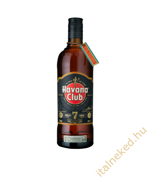 Havana Club 7 Year Old Rum (40%) 0,7 l
