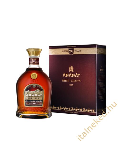Ararat Nairi Brandy (20-year-old) (40%) 0,7 l