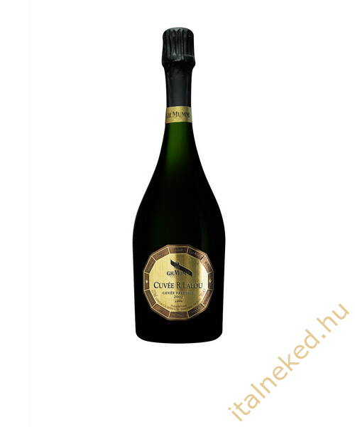 G. H. Mumm Cuvée R. Lalou 2002 Pezsgő (12,5%) 0,75 l