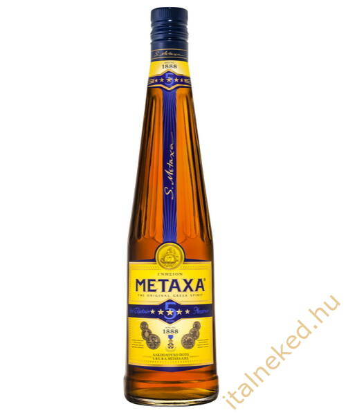 Metaxa  5* konyak (38%) 1 l