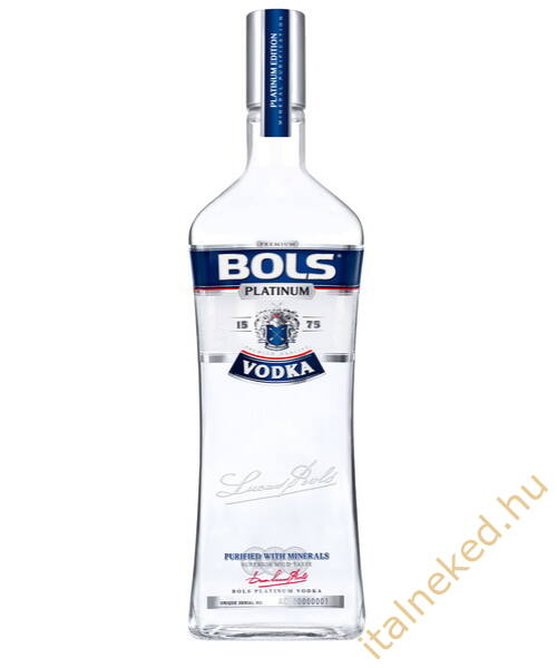 Bols Platinum vodka (40%) 1l