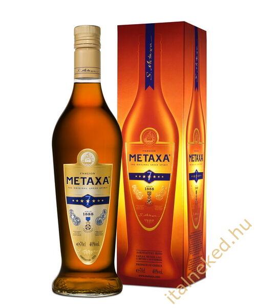 Metaxa 7* konyak (40%) 0,7 l