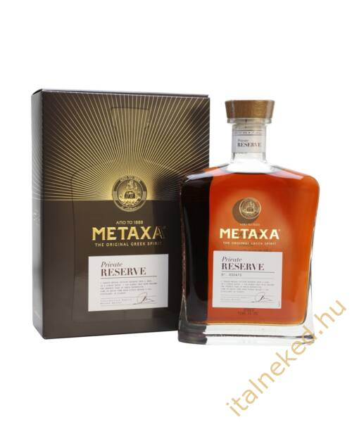 Metaxa Private Reserve konyak (40%) 0,7 l