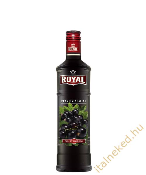 Royal vodka  Fekete ribizli (30%) 0,35 l