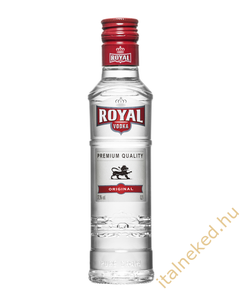 Royal vodka HI. (37,5%) 0,2 l