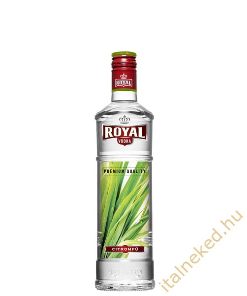 Royal vodka Citromfű (37,5%) 0,5 l