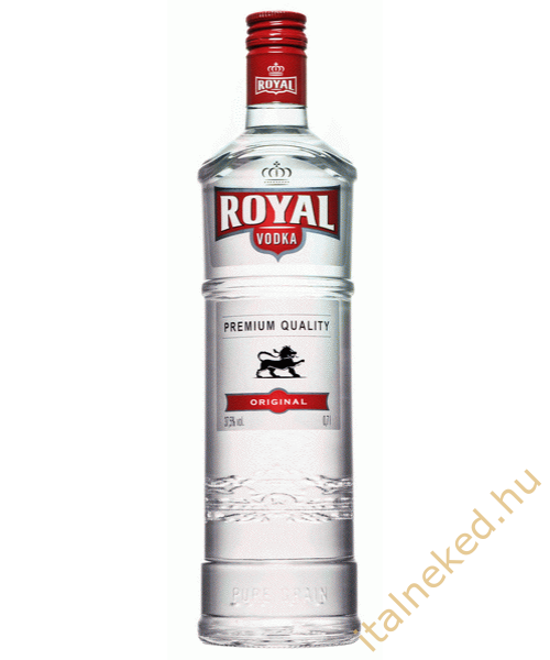 Royal vodka (37,5%) 0,7 l