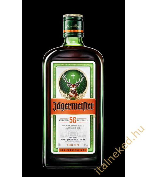 Jägermeister gyomorkeserű (35%) 0,7 l
