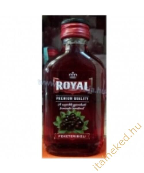 Royal vodka Fekete ribizli (30%) 0,1 l
