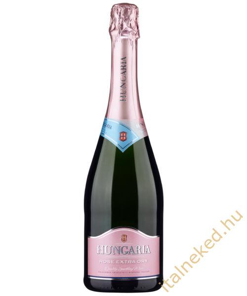 Hungária Rosé Extra Dry pezsgő (11,5%)  0,75 l