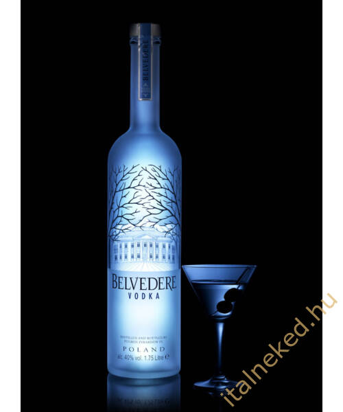 Belvedere Pure Night Light Vodka (40%)  3,0 l