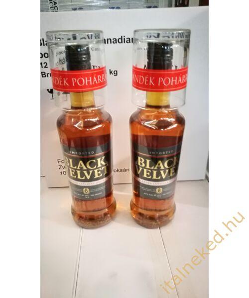 Black Velvet Whisky (+ pohár)  (40%) 0,7 l