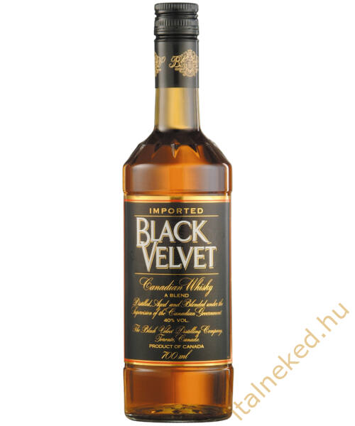 Black Velvet whisky (40%) 0,7 l