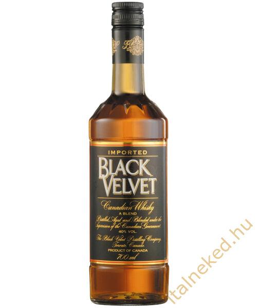 Black Velvet whisky (40%) 0,7 l