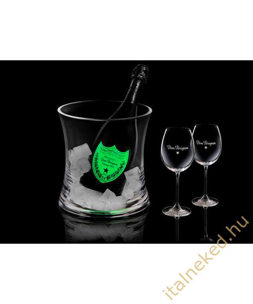 Dom Pérignon Blanc Pezsgő (világító címkével) (12,5%) 0,75 l