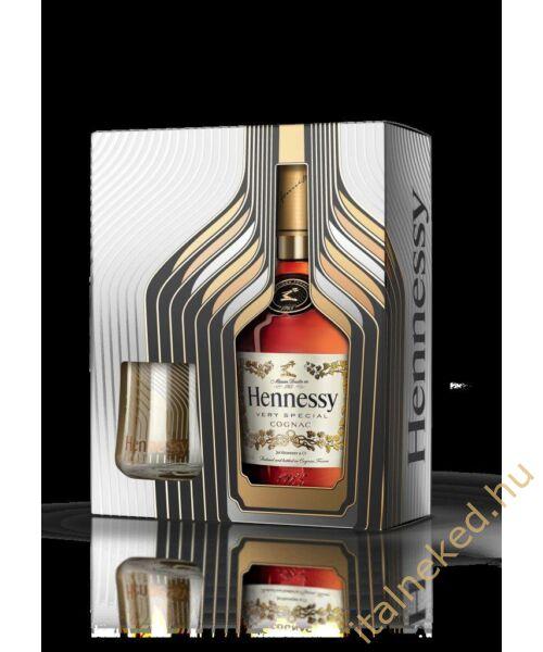 Hennessy V.S. (DD + 2 pohár) (40%)  0,7 l