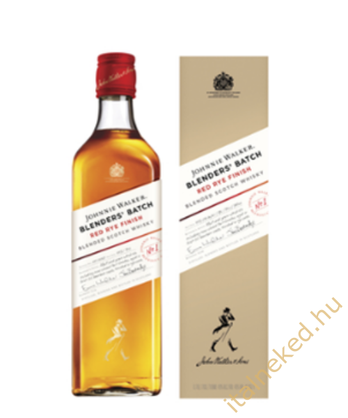 Johnnie Walker Blender's Batch Red Rye Finish Whiskey (40%) 0,7 l