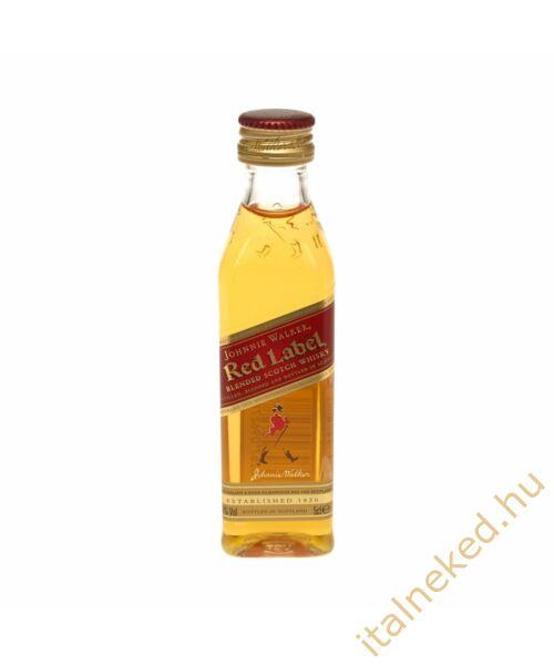 Johnnie Walker Red whisky mini (40%) 0,05 l