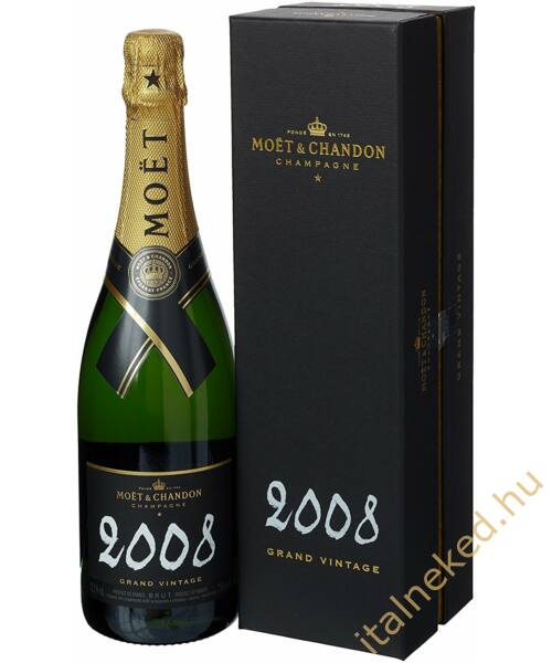 Moët&Chandon Grand Vintage 2008 Chalk Pezsgő (12%) 0,75 l