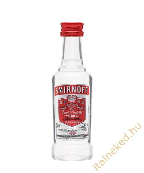 Smirnoff vodka red mini( 37,5%) 0,05 l