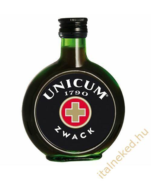 Unicum gyomorkeserű zsebpalack (40%) 0,1 l