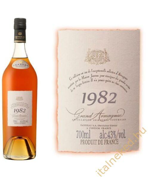 Janneau Armagnac 1982 konyak (43%) 0,7 l