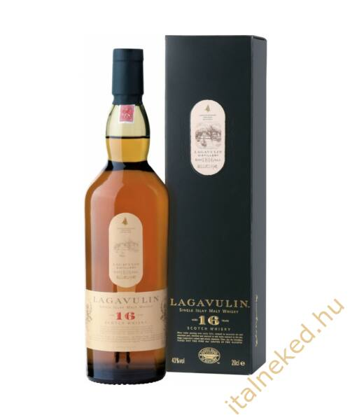 Lagavulin 16 Years Whisky (43%) 0,7 l