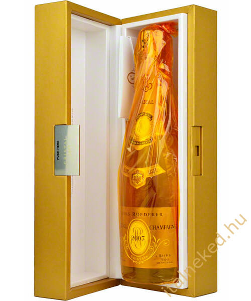 Louis Roederer Cristal Brut pezsgő 0,75 l