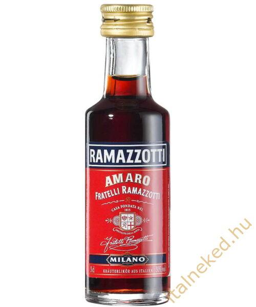 Ramazzotti Amaro likőr mini (30%)   0,03 l