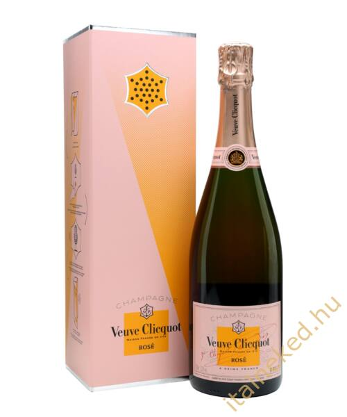 Veuve Clicquot Ponsardin Rosé pezsgő (12%) 0,75 l