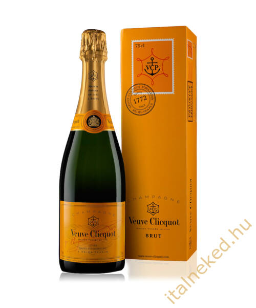 Veuve Clicquot Brut pezsgő (12%) 0,75 l