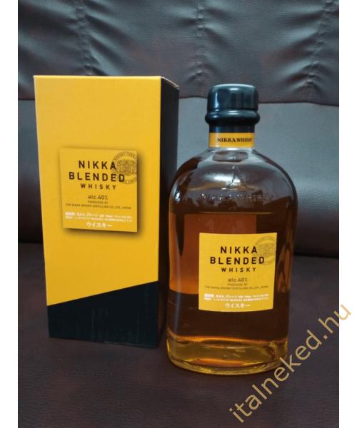 Nikka Blended japán whisky (40%) 0,7 l