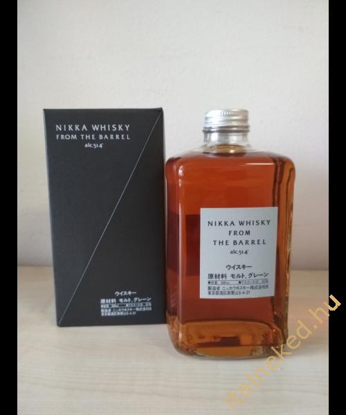 Nikka From The Barrel japán whisky (51,4%) 0,5 l