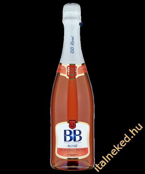 BB Rosé pezsgő (10%)  0,75 l