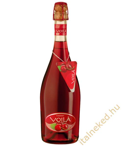 Voila cherry pezsgőkoktél 0,75 l