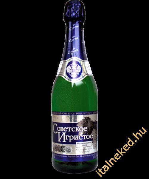Szovjesztszkoje Igrisztoje száraz pezsgő 0,75 l