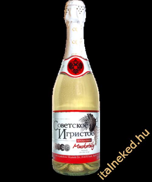 Szovjesztszkoje Igrisztoje muskotályos pezsgő 0,75 l